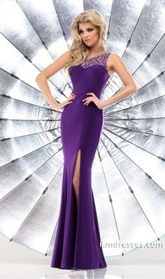 http://www.ikmdresses.com/2014-Prom-Dress-One-Shoulder-Mermaid-Sweep-Train-Beaded-Slim-Satin-p84887