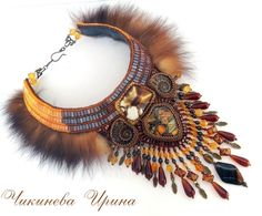 "(96) Gallery.ru / Фото #3 - Колье ""Кэмэрин""(защитница) - Chikineva"