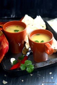 DAL SHORBA – A MILD LENTIL SOUP Recipe via @yummilyyours for the Snackable @sodelicious dairy-free recipe contest!