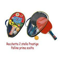 Racchette Ping Pong (2 racchette + 2 palline) €4.89