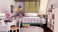 Fun room design made by talented simmers in the Sims 3