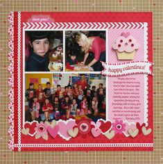 A Doodlebug Sweethearts Layout by Mendi Yoshikawa - Scrapbook.com