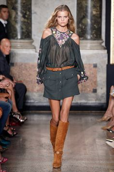 Spring Summer 2015 Show Collection - Emilio Pucci Official Website and Online Store: Luxury fashion made in Italy. Abbinamento very cool!