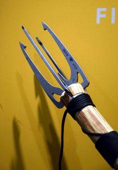 "Rocky Mountain Bushcraft: SHOT Show 2016: Buck Knives new ""Kinetic"" Wilderness Survival Spear"