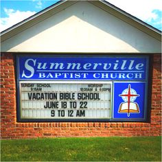 A 15-hour bible school lesson? Hey...cheap babysitting! LOL