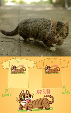 Hi it's me, BUB. Several weeks ago The Yetee featured an exclusive shirt designed by Kari Fry. They were only available that weekend. Good news is they made some extra and we got them! Bad news is there aren't very many… BUT… if you hurry over to:  http://store.lilbub.com/  …you can try to snag one, there's about 1-3 left of each size and style. As always, part of the proceeds are donated to shelters and rescue centers. Lub, BUB
