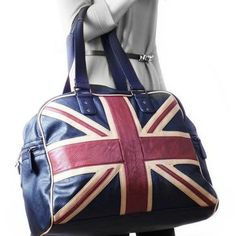 Union Jack Weekend Bag while in London London Souvenirs, British Things, Shabby Chic, Union Jack, British Style, London Fashion, Retro, United Kingdom, Purses And Bags