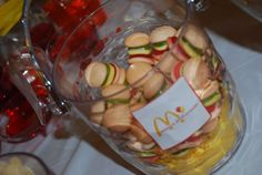 Jawahir J's Birthday / Mcdonalds French Fries - Photo Gallery at Catch My Party Birthday Treats, Party Treats, Boy Birthday Parties, Birthday Party Decorations, 5th Birthday, Diy Holiday Gifts, Holiday Parties, Mc Donald Party, Mcdonalds Birthday Party
