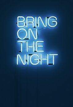 NEON NIGHT:  3D Neon Signs by Rizon Parein
