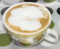 coffee foam in the microwave ... i need to try this for my ho-cho ...