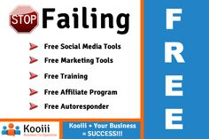 Grow your business with a free Kooiii membership