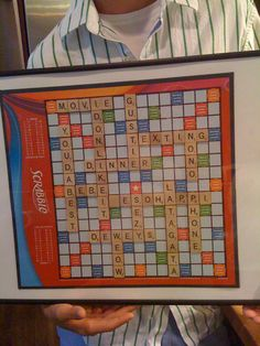 valentine or aniversary gift idea with scrabble board put all the dates youve had or all the things you lvoe about the other person Boyfriend Gifts, Boyfriend Ideas, Scrabble Board, Lovey Dovey, Diy Cards, Cool Stuff, Sweet Stuff, Anniversary Gifts, Love Story