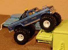 1980 39 s bigfoot and pulling truck toys matchbox monster. Black Bedroom Furniture Sets. Home Design Ideas