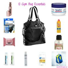 10 #Gym Bag Essentials for Every Woman | #fitness #exercise via @FitBottomedGirl
