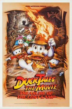 DUCKTALES: TREASURE OF THE LOST LAMP // usa // Walt Disney 1990