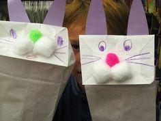 The Runaway Bunny--> Paper bag bunnies