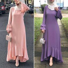 Muslim Women Fashion, Womens Fashion, Abaya Designs, Hijab Fashion, Dresses With Sleeves, Long Sleeve, Sleeve Dresses, Long Dress Patterns, Gowns With Sleeves