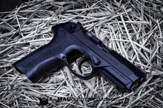 MAD Black everything on a @berettaofficial PX4 Storm.  http://ift.tt/1yQDEDl  #cerakoteMADness