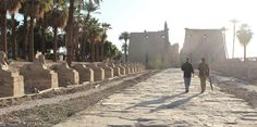 The 3500 Year Stroll to Luxor Temple by Scott Alan Roberts