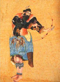 夷酋列像展 Korean Art, Asian Art, Ainu People, Tribal Art, Japanese Art, Samurai, Disney Characters, Fictional Characters, Disney Princess