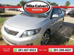2010 Toyota Corolla S 60k miles $1 60290 miles 281-407-9523  #Toyota #Corolla #used #cars #MikeCalvertToyota #Houston #TX #tapcars