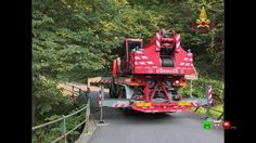 Vigili del Fuoco - Cremenaga (VA) - Soccorsi per incidente stradale - Sl...