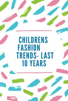 #Fashion has been influenced heavily by the events happening during the year including music. Learn about the evolution of #children's fashion over the last 10 years on our blog: http://blog.treasureboxkids.com/girls-fashiontrendsspring-2015/