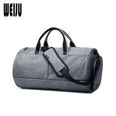 3b7d144b74 WEIJU 2017 New Men Travel Bag Large Capacity Traveling Bag Women Hand Luggage  Duffel bag Casual Mens Travel Shoulder Bags-in Travel Bags from Luggage    Bags ...