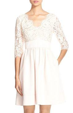 Eliza j white dress empire