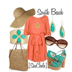 """""""South Beach"""" by michele-cortes on Polyvore"""