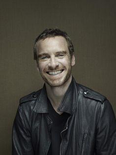 Smile, he's Michael Fassbender