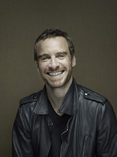 biggest mouth ever? Michael Fassbender. sexy.