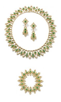 A unique jade and diamond parure, by Gianmaria Buccellati