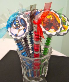 Skylander Party Favors by POPSnMORE on Etsy, $16.00