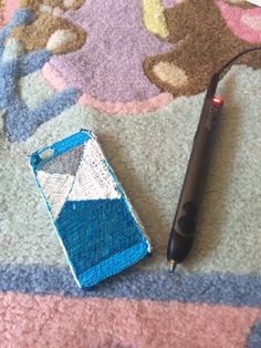 phone case made by the 3doodler 2.0 3d Drawing Pen, 3d Pen, 3d Drawings, 3doodler, Phone Case, 3 D, 3d Printing, Stencils, Projects