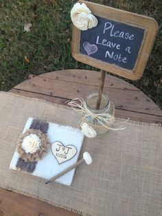 Wedding Guestbook  ---- !!!!!!!! LOVE