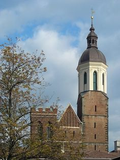 The church of the Ascension of the Holy Virgin mary in Opava (Silesia), Czechia
