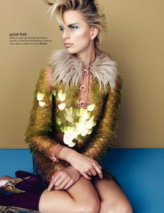 Fabrication. Photos: Nagi Sakai for Elle France December 2011 via TFS