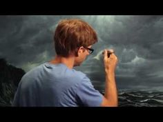 How To Paint Glow Effect Without Airbrush - Mural Joe - YouTube