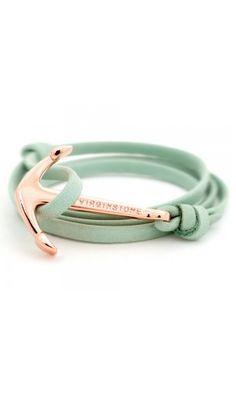 Anchor Bracelets Green
