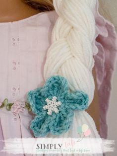 {DIY costume}: Frozen Elsa crochet hat and tiara patterns | Simply Tale