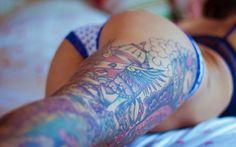 Hot Legs Tattoos