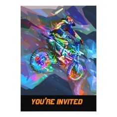 Shop Super Crayon Colored Dirt Bike Downhill Poster created by ElainePlesser. Personalize it with photos & text or purchase as is! Dirt Bike Room, Dirt Bike Girl, Bike Downhill, Bike Meme, Bike Humor, Dirt Bike Tattoo, Dirt Bike Quotes, Motocross Quotes, Dirt Bikes For Sale