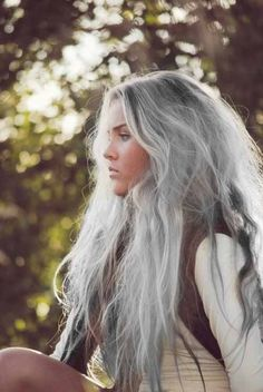 Chelsea Crockett silver hair
