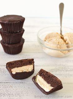 Ice Cream Cupcake Peanut Butter Cups