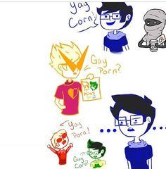 homestuck in one picture