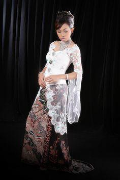 Animasi Fashion Kebaya Akad Nikah Modern Model Desain Baju - FunyLool.com