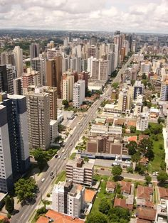 PARANÁ [South, Capital Curitiba] - Curitiba City.