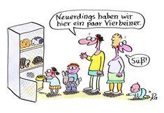 Kindergarten_KiGaPortal_Cartoon_Renate Alf_Vierbeiner