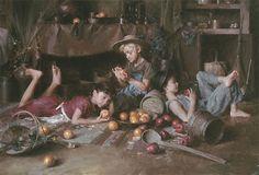 "Greenwich Workshop - ""Apples and Oranges"" by Morgan Weistling Art Prints"